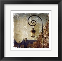Golden Age of Paris II Framed Print