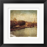 Golden Age of Paris V Framed Print