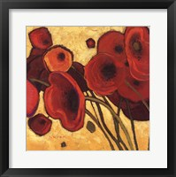 Poppies Wildly I Framed Print