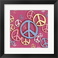 Peace Baby Framed Print