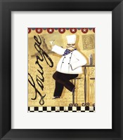 Chef's Break  II Framed Print
