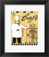Chef's Break III Framed Print