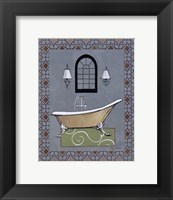 Chandelier Bath IV Framed Print