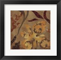 Floral Fragment I Framed Print