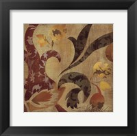 Floral Fragment II Framed Print