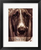 Love Truly Framed Print
