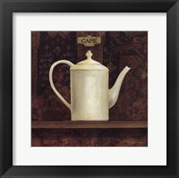Ornamental Teapot I Framed Print