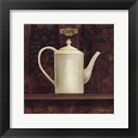Ornamental Teapot I Framed Print