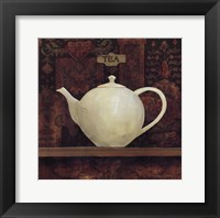 Ornamental Teapot II Framed Print