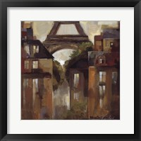 Framed Paris Late Summer I