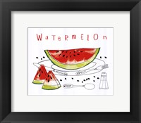 Fruit Stand I Framed Print