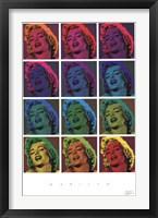 Framed Marilyn Monroe - Pop Art!