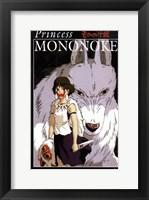 Framed Princess Mononoke, c.1998 - style E
