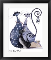 The Cat Pack Catitudes Framed Print