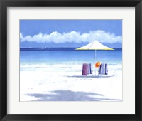 Framed Beach Life II