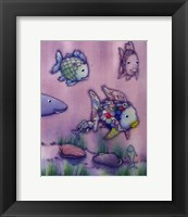 The Rainbow Fish II Framed Print