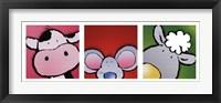 Framed Animal Friends II