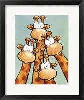Funny Friends II Framed Print