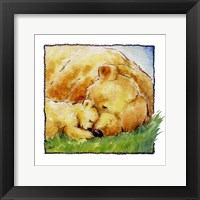 Mother Bear's Love II Framed Print
