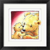 Mother Bear's Love III Framed Print