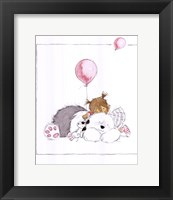 Children's World III Framed Print