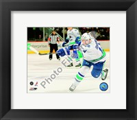 Framed Alexandre Burrows 2009-10 Action