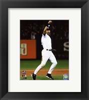 Framed Derek Jeter Game Six of the 2009 ALCS Celebration