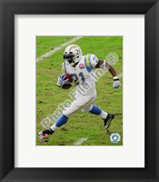 Framed LaDainian Tomlinson 2009 Action