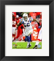 Framed Shawne Merriman 2009 Action