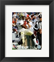 Framed Reggie Bush football 2009