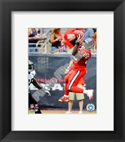 Framed Steve Slaton 2009 Action