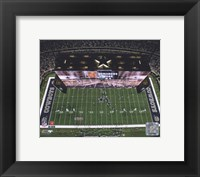 Framed Cowboys Stadium Overhead View ( 2009)
