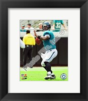 Framed David Garrard 2009 Action