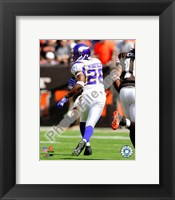 Framed Antoine Winfield 2009 Action