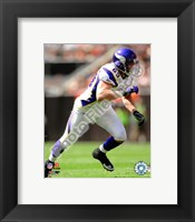 Framed Jared Allen 2009 Action