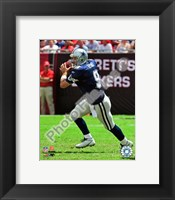 Framed Tony Romo 2009 Action