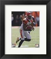 Framed Chad Ochocinco 2009 Action