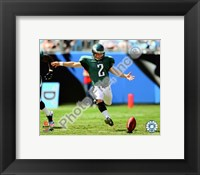 Framed David Akers 2009 Action