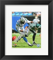 Framed Julius Peppers 2009 Action
