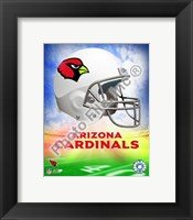 Framed 2009 Arizona Cardinals Team Logo