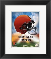 Framed 2009 Cleveland Browns Team Logo