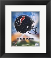 Framed 2009 Houston Texans Team Logo