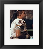 Framed Mike Ditka Player