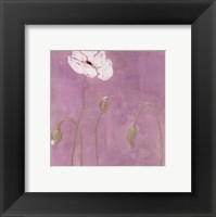 Poppy l Framed Print