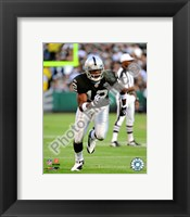 Framed Darrius Heyward-Bey 2009 Action On The Field
