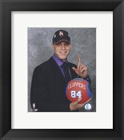 Framed Blake Griffin 2009 NBA Draft #1 Pick