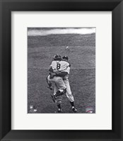 Framed Don Larsen & Yogi Berra Game 5 of the 1956 World Series Perfect Game