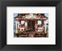 Framed Bentley Bear's Bait Shop