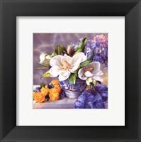 Framed Moonlit Magnolia