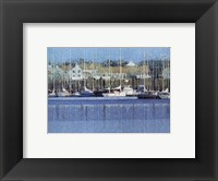Framed Le Port De Plaisance